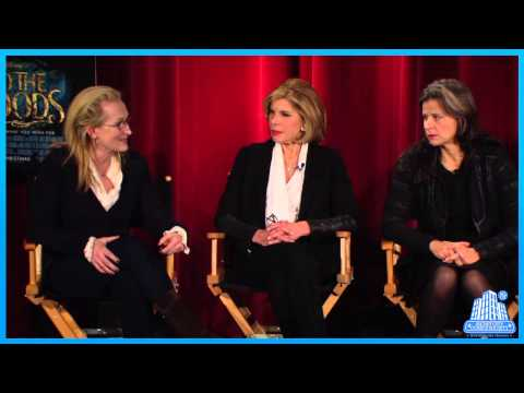 Disney's Into the Woods - Cast and Filmmaker Live Interview - Stephen Sondheim, Meryl Streep