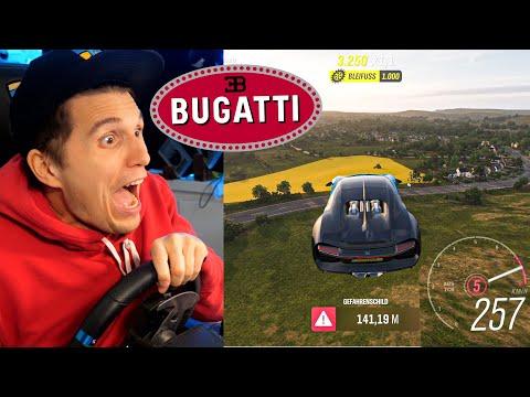Mit dem BUGATTI Chiron über die SPRUNGSCHANZE | Forza Horizon 4 - Paluten