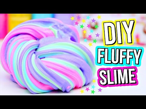 Thumbnail: DIY FLUFFY SLIME! How To Make The BEST Slime!