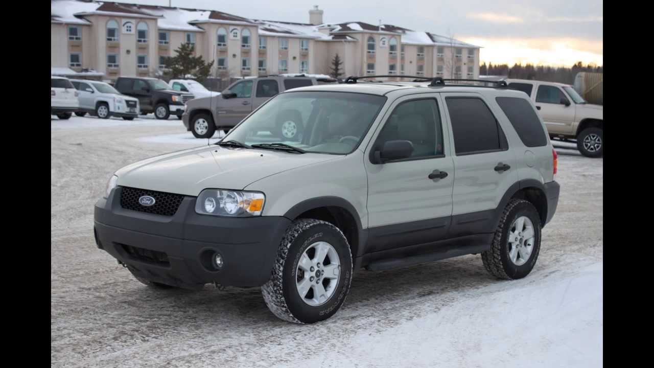2006 ford escape xlt 4dr 4x4 in review red deer youtube. Black Bedroom Furniture Sets. Home Design Ideas