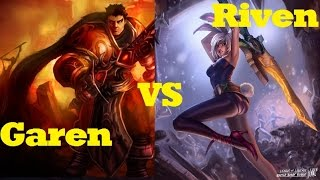 Garen VS Riven - League of Legends Commentary