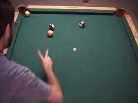 NV 7.4 - 30° rule billiard shot