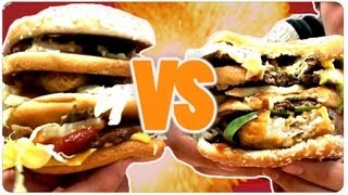 BIG BURGER BATTLE !!!