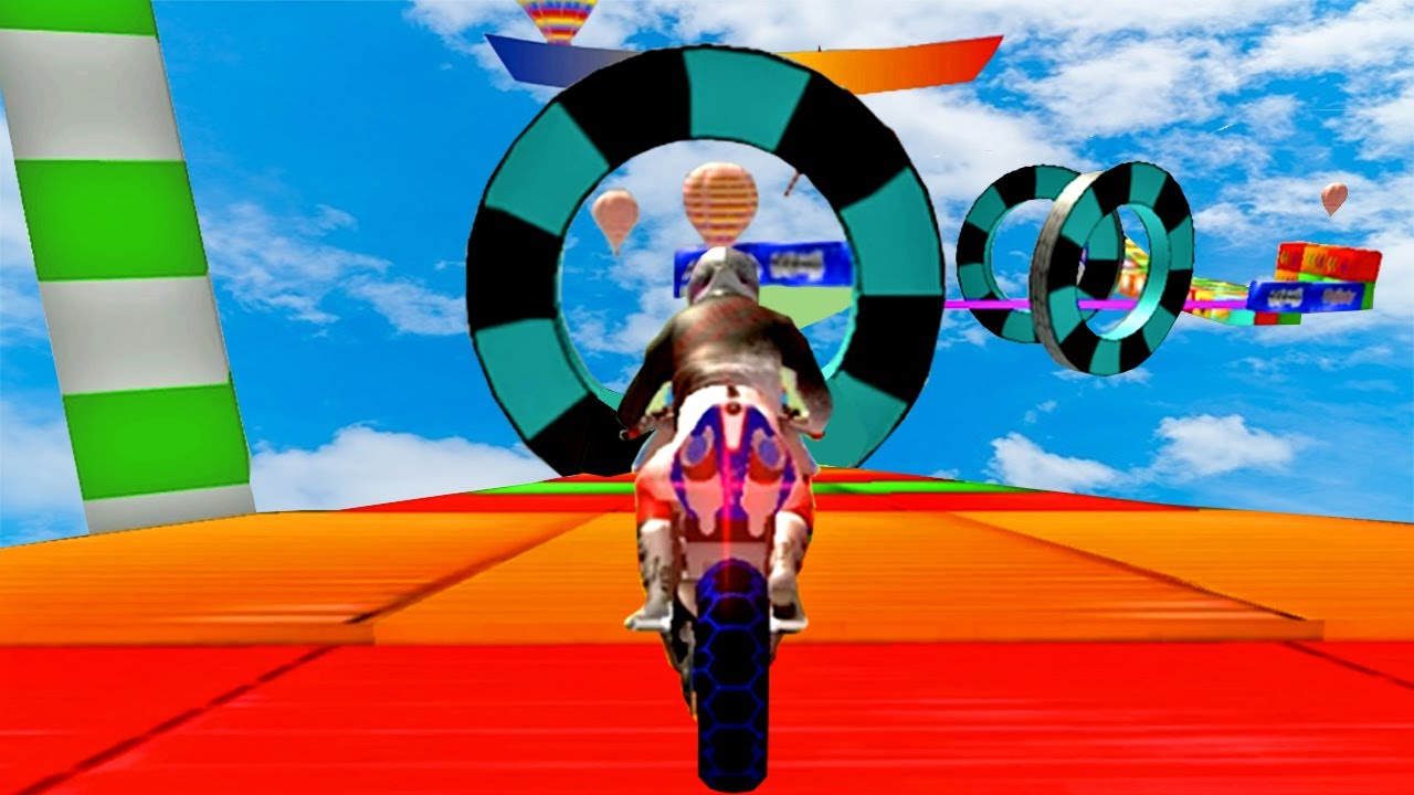 Juegos de Motos - Impossible GT Bike Racing Stunt - Carreras Imposibles de Motos