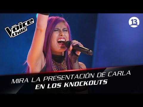 The Voice Chile | Carla González - We are young