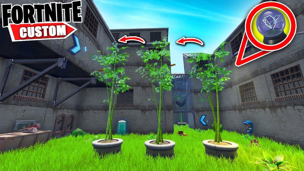 Fortnite PRISON RIOT Escape PUZZLE 2   Can you FIND the ESCAPE Path?!  (Fortnite Creative Mode)
