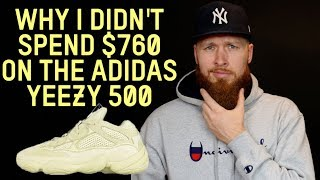why i didnt buy the adidas yeezy 500 desert rat for 760