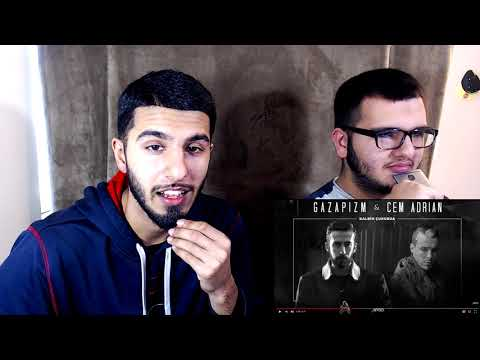Gazapizm - Kalbim Çukurda ft. Cem Adrian (REACTION)