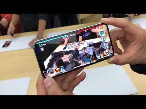 iPhone X 操作:ARKit 應用在遊戲上
