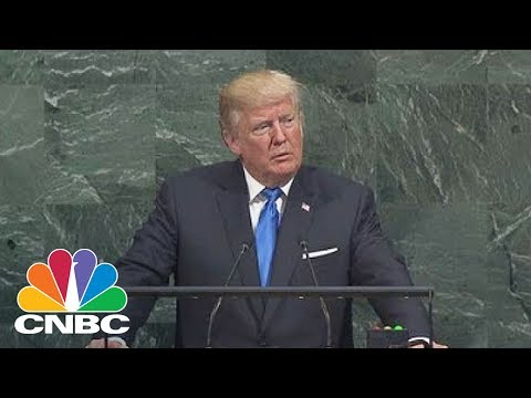 North Korea Ambassador Walks Out Of UN Assembly In Boycott Of Donald Trump's Speech | CNBC