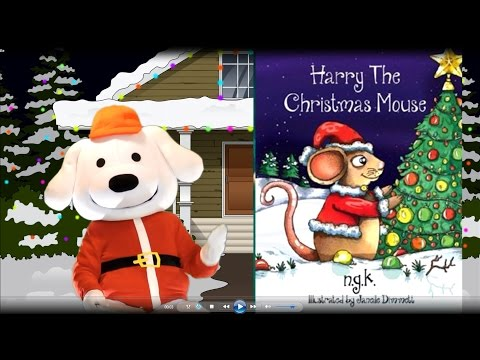 Storytime Pup: Children's Books: Harry The Christmas Mouse. Story Book Time Bedtime Story, Kids book