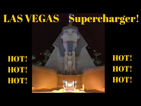 Tesla Motors Model S/III/X: Supercharger Travel to Las Vegas, NV