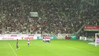 Lukas Podolski選手の日本での最初のゴール!素晴らしい!