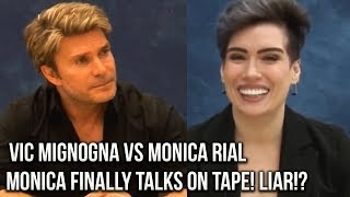 Vic Mignogna VS Monica Rial EXPOSED!! Monica Rial's LIAR ON TAPE!? Vic VS Monica Depo #iStandWithVic
