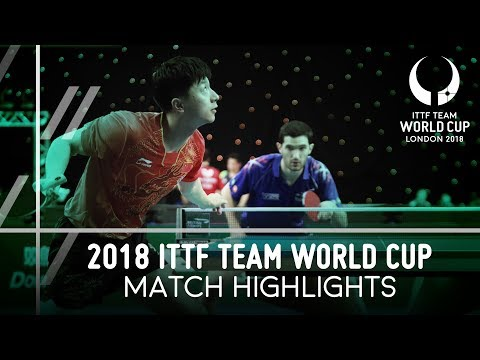 2018 Team World Cup Highlights I Ma Long vs Emmanuel Lebesson Group