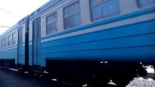 Скоростной электропоезд Харьков пасс- Запорожье 1(Лозовая снято под мостом., 2015-03-22T13:34:29.000Z)