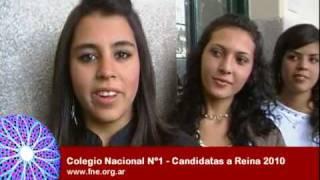 Colegio Nacional Nº 1 - Candidatas a Reina 2010