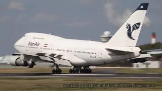 Iran Air - Boeing 747SP-86 EP-IAB イラン航空 B747-SP