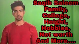 Saqib Saleem Family,College,Height,Profession,Hobbies,Net worth And More....