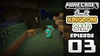 Minecraft PE: Kingdom SMP Ep. 3 - MEGA TREE HOUSE