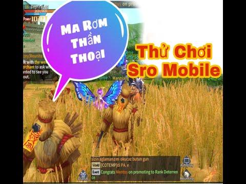 Thử Chơi SRO Mobile Giống Đến 80% Sro PC - NTT Vlogs