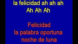 Felicidad - Albano - karaoke Tony Ginzo