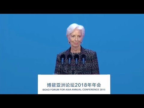 Visions for the Future: IMF chief Lagarde delivers speech at Boao Forum