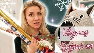 Nie wiem jak spakować ten prezent! Tworzymy nowe MENU | Weekly Vlogmas #3