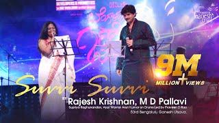 """Suvvi Suvvi"" song by Rajesh Krishnan & M D Pallavi @ 53rd Bengaluru Ganesh Utsava..!!!"