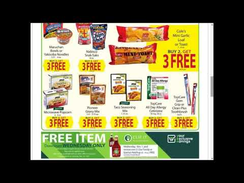 Family Fare - SUPER weekly special deals AD coupon preview vol.1~❤
