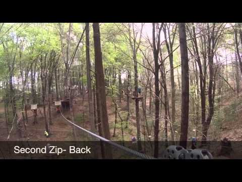 Canyon Zip - U.S. National National Whitewater Rafting Cent