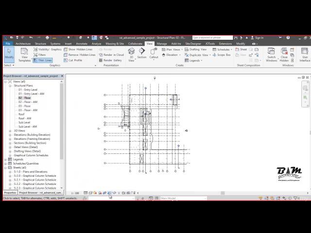 Revit Structures | 09 Pestañas de Gráficos y Visibilidad de Objetos