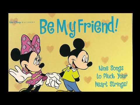 Disney's Be My Friend! Cassette Tape