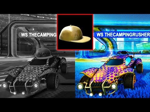 SAYING GOODBYE TO THE ALPHA CAP IN ROCKET LEAGUE!!