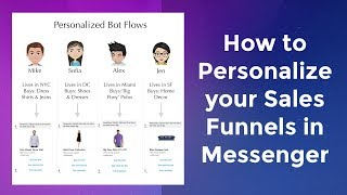 Shopify Bot: Personalizing your Sales Funnels in Messenger