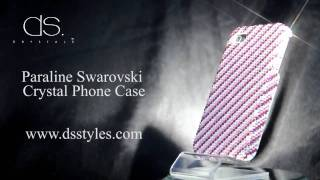 DSstyles Paraline Swarovski Crystal iPhone 4 4S Case Thumbnail