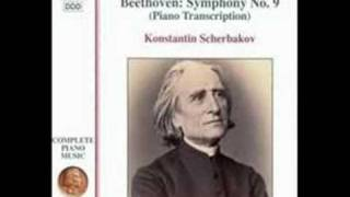 Beethoven/Liszt - Symphony No. 9 for Piano 2nd Movement Part 1 of 2