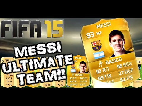 FIFA 15 - MESSI EN MI PRIMER SOBRE!! | REACCIÓN EPICA