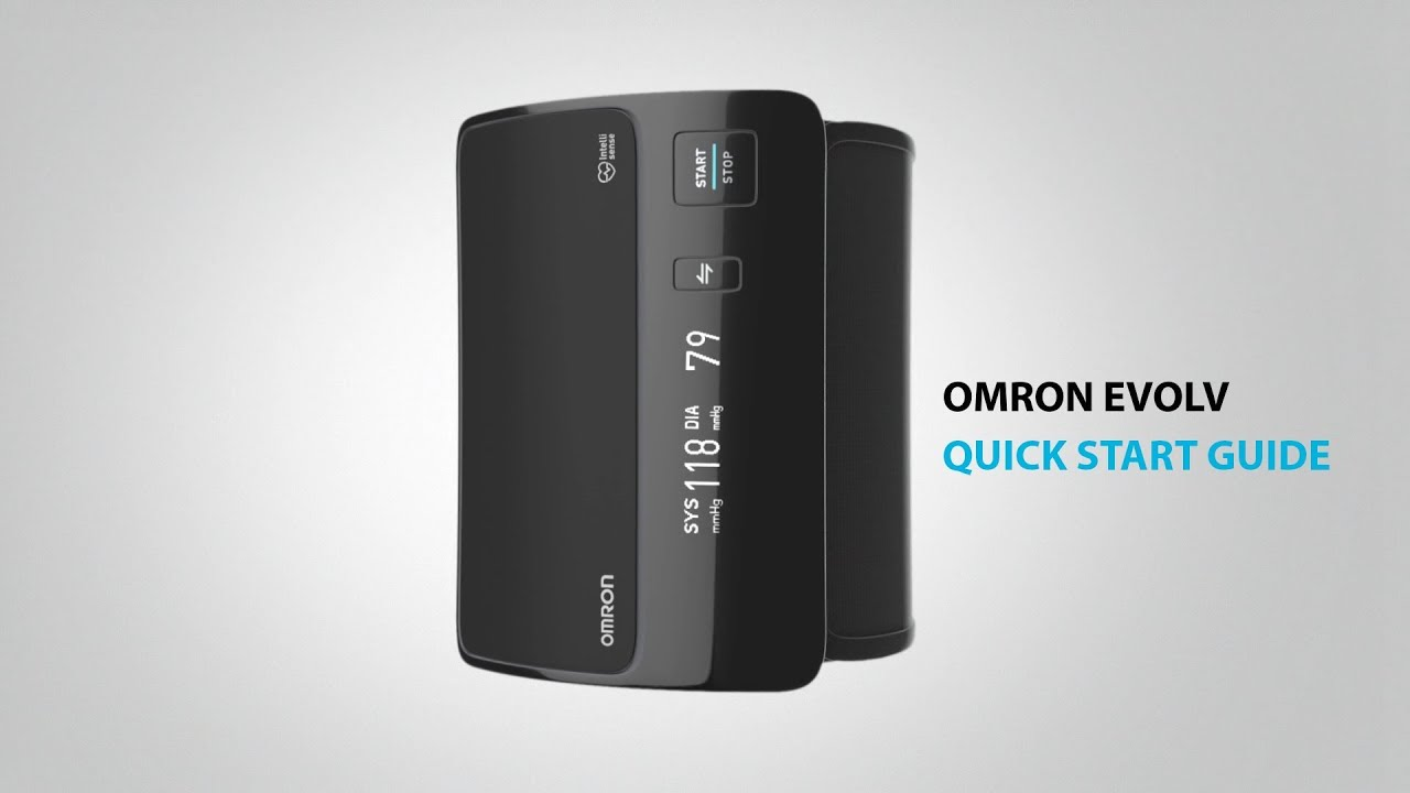 Omron Evolv Tubeless Wireless Upper Arm Blood Pressure Manual Guide