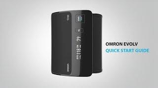 OMRON EVOLV Tubeless, Wireless, Upper Arm Blood Pressure Monitor - Quick Start Guide