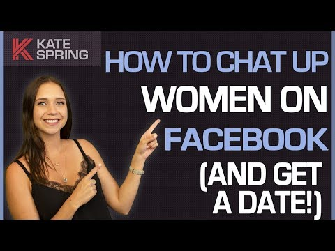 How To Chat Up Women On Facebook (And Get A Date!) from YouTube · Duration:  5 minutes 26 seconds