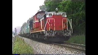 想い出の鉄道シーン96 想い出の北海道1986 part5 七飯-大沼・大沼公園付近 キハ183系・DD51客レなど