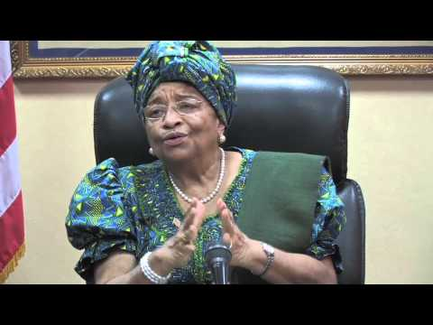 Ellen Johnson Sirleaf on the Truth and Reconciliation Commission
