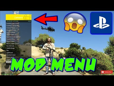 HOW TO INSTALL A PS4 GTA 5 MOD MENU WITH A USB! 2020
