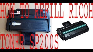 How To Reset Ricoh Printer Sp 200 Video in MP4,HD MP4,FULL