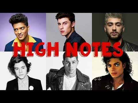 MALE SINGERS HITTING HIGH NOTES C5C6