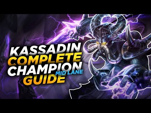Kassadin: DELETE THE BACKLINE - League of Legends Champion Guide [SEASON 7]