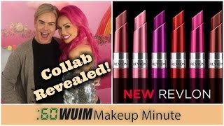Makeup Minute | Kandee Johnson X Too Faced Collab REVEALED + NEW Revlon Ultra HD Gel Lip Colors!