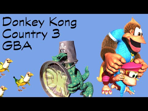 Donkey Kong Country 3 GBA Longplay