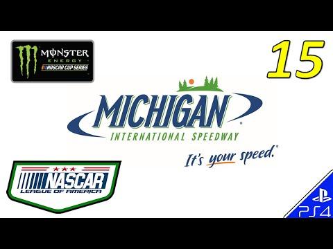 NASCAR Heat 2 LEAGUE OF AMERICA CUP - RACE 15/36 Michigan (2/12/18)